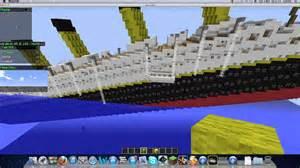 minecraft map showcase sinking titanic youtube