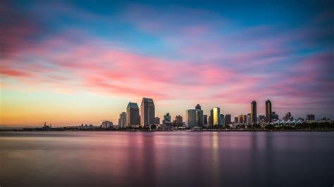 Panoramic View Skyline Wallpapers - Wallpaper Cave