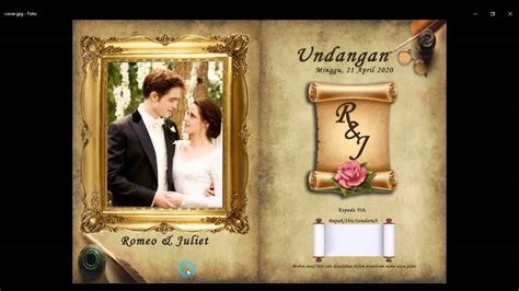 photoshop tutorials wedding invitation  easy