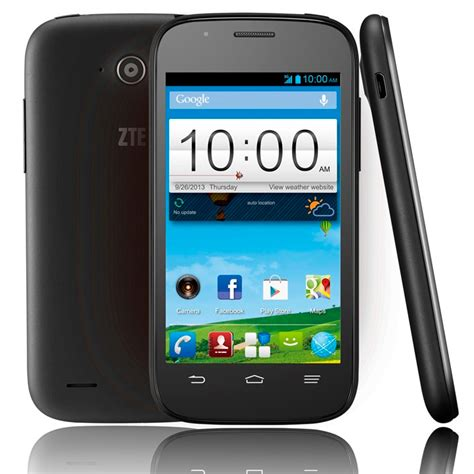 zte android zte blade mini android phone with 4 quot screen jellybean 4