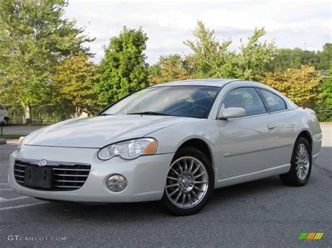 2003 Chrysler Sebring Lxi Coupe by 2003 Satin White Pearlcoat Chrysler Sebring Lxi Coupe