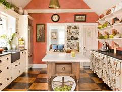 Kitchen Wall Colors With Honey Oak Cabinets 25 Colorful Kitchens Stunning Monochromatic Kitchen With Walls And Cabinetry Painted In A Lights Light Blue Walls And A Long Turquoise Dining Table Surrounded Home Decorating Trends Homedit