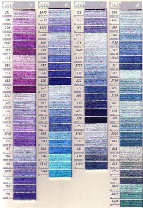 dmc color chart dmc color charts needlework