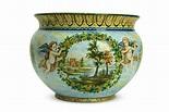 Acquista online Vaso in ceramica Paesaggio e Puttini-Liberati