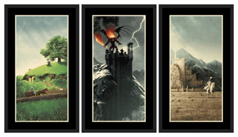"Matt Ferguson ""the Lord Of The Rings Trilogy"" Set"