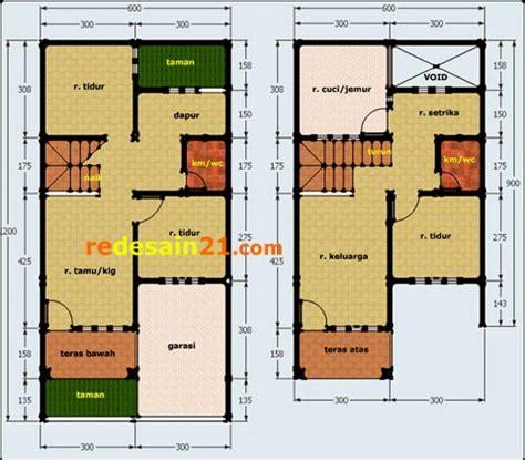 gambar rumah minimalis ukuran    meter