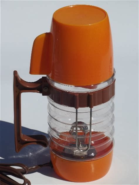 60s vintage 12v electric coffee maker, car coffee pot
