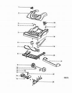 Looking For Eureka Model 4870dt Upright Vacuum Repair
