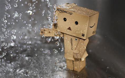 精彩回顾:小盒子,纸箱人,Danbo可爱壁纸_我爱桌面网提供