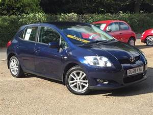 Toyota Auris 2008 : 2008 toyota auris 1 6 mmt tr automatic 5 door blue only 50 565 miles superb in high ~ Medecine-chirurgie-esthetiques.com Avis de Voitures