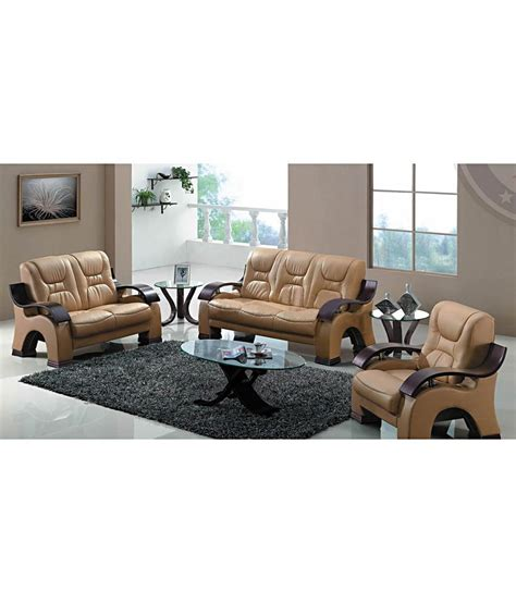 6 Seater Luxury Sofa Set With Poly Fibre Seats Buy Online