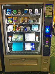 Supply vending machine added to Atkins Library | Auxiliary ...