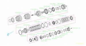 2015 Subaru Brz Automatic Transmission Output Shaft  Front