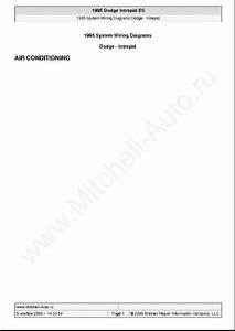 Dodge Sprinter 3500 2003 Wiring Diagrams Sch Service Manual Download  Schematics  Eeprom  Repair