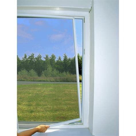 cuisine à domicile moustiquaire pour fenêtre cadre fixe moustikit h 150 x l