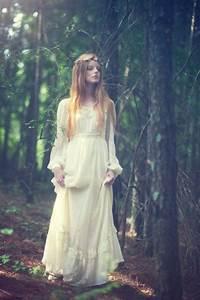 70s boho wedding dress hippie prairie tiered wedding maxi With boho hippie wedding dress
