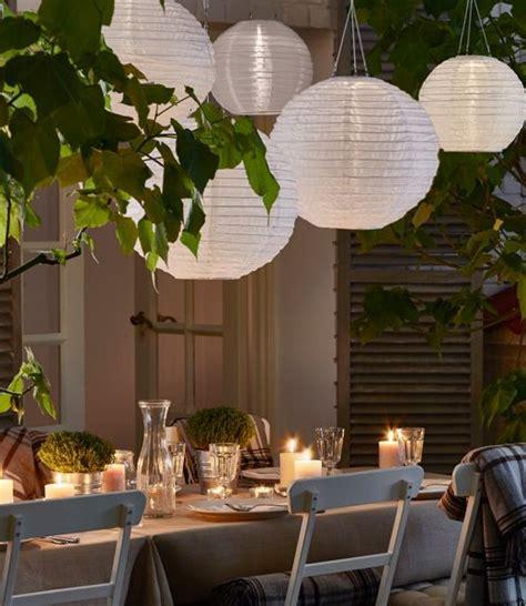 outdoor möbel ikea solvinden verlichting lions voor buiten garden