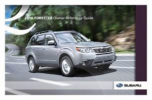 Subaru Forester 2020 Owners Manual
