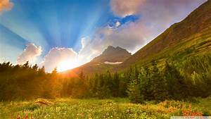 Beautiful Morning View Wall Papers