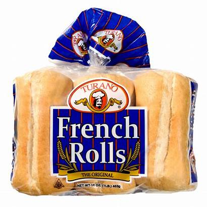French Turano Rolls Roll Bread Sandwich Grocer