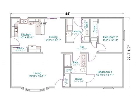 4 Bedroom House Plans With Basement by New One Story Ranch House Plans With Basement New Home