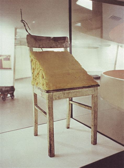 recouvrir chaise chair 1964 joseph beuys wikiart org