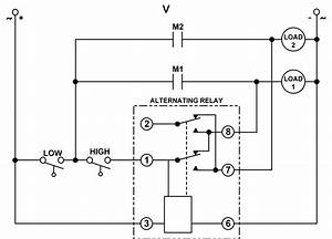Compressor Alternating Relay Wiring Diagram