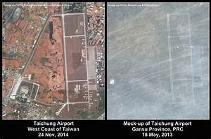 Satellite Imagery: China Staging Mock Invasion of Taiwan ...