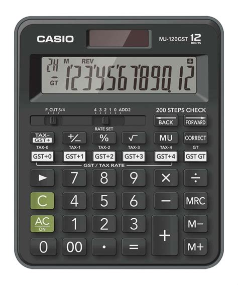Casio MJ-120GST Desktop Calculator-Buy MJ-120GST Online at ...
