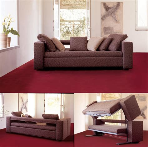 doc sofa bunk bed innovative multifunctional sofa by designer giulio manzoni