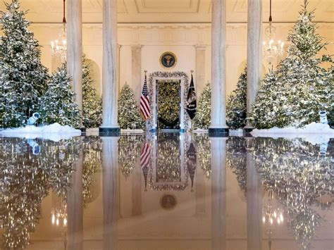 white house reveals  christmas decorations abc news
