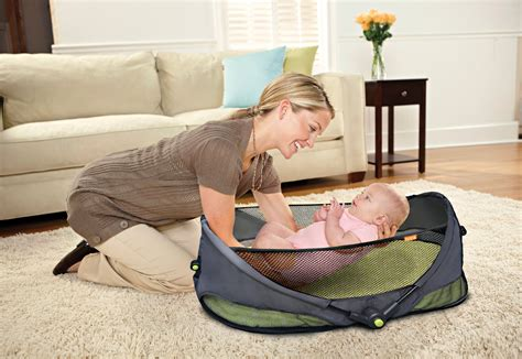 Baby Travel Bed Canopy Mosquito Net Tent Fold Go Bassinet
