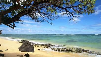 Beach Wallpapers Seascape Desktop Nature Hawaii Background
