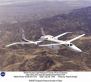 Proteus EC99-45110-8: ERAST Program Proteus Aircraft in Flight