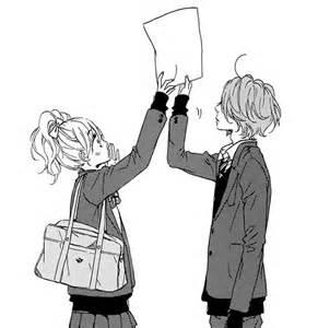 Shoujo Anime Manga Couple