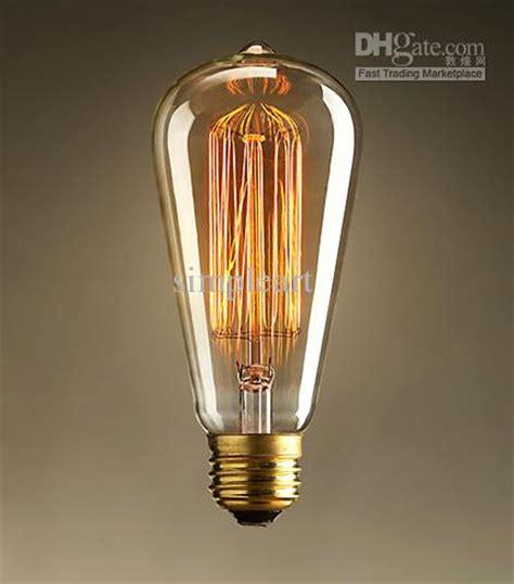 1910 antique vintage edison light bulb 40w 220v radiolight