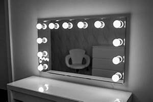 Spiegel Mit Glühbirnen Ikea : hollywood spiegel theaterspiegel spiegel mit gl hbirnen ~ Michelbontemps.com Haus und Dekorationen