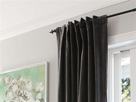turn  grommet top curtain    tab curtain