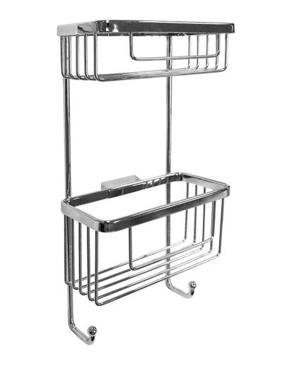 Rectangular Shower Basket - rectangular shower basket with hooks rsb07