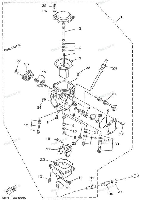 Wiring Diagram With Schematic For A 1998 400 4x4 Arctic Cat Atv by 2000 Yamaha Kodiak Wiring Diagram Auto Electrical Wiring