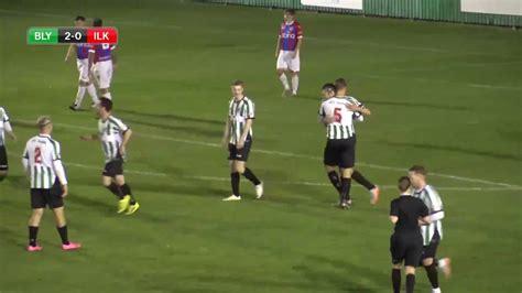Match Highlights - Blyth Spartans Vs. Ilkeston - YouTube