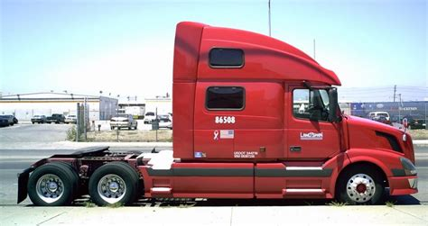 volvo trucks wiki file volvo bobtail semi truck landspan jpg wikipedia