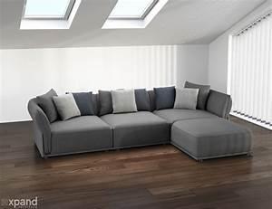 Stratus, Sofa, Modern, Modular, Sectional, Set, Of, 5