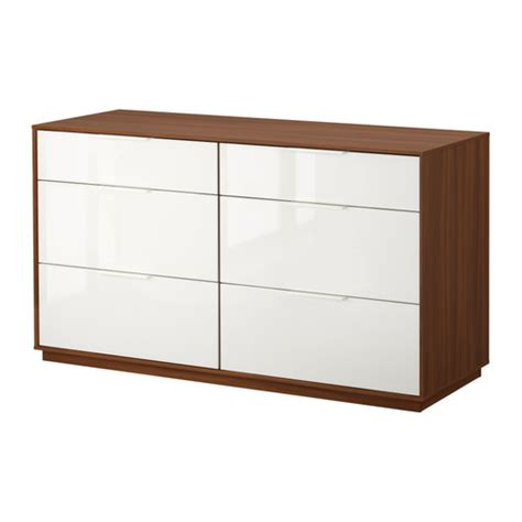 ikea nyvoll commode 6 tiroirs tiroirs avec