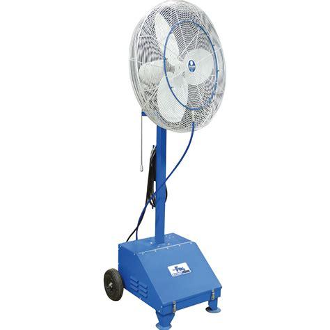 high pressure misting fan schaefer versafog high pressure misting fan 30in 75