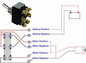 Connecting A 6 Terminal Toggle Switch To A Dc Motor  U2013 Knowledge Base