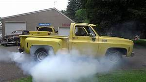 1977 Gmc Sierra Grande Stepside Burnout