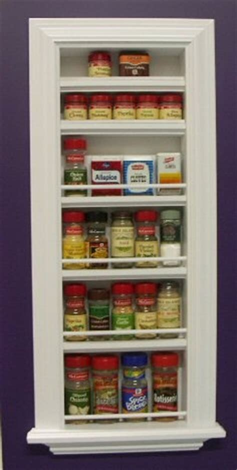 Recessed Spice Rack recessed shelf in kitchen for a few knick knacks hmmm