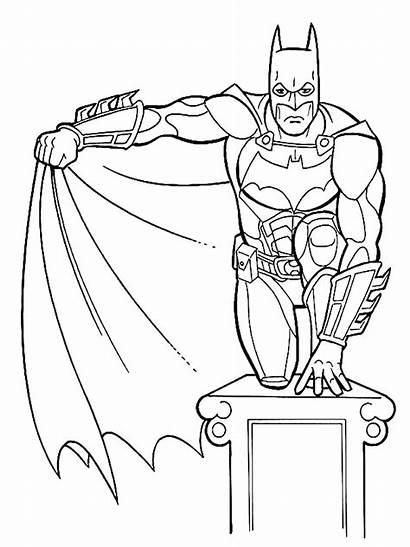 Coloring Pages Children Batman Child Printable Joker
