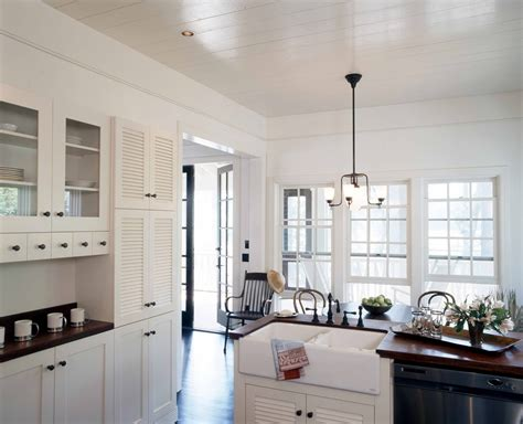 Glass Cabinet Doors Kitchen Farmhouse With Apron Sink